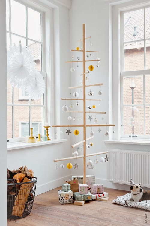 christmas all around une maison d cor e pour no l. Black Bedroom Furniture Sets. Home Design Ideas