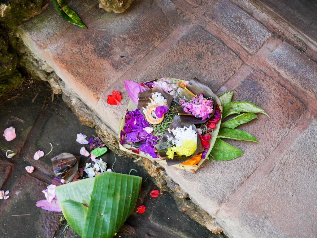offrande carnet voyage bali blog lili in wonderland
