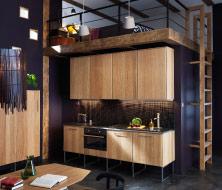 Cuisine moderne finition bois avec plans de travail foncés et appareils intégrés__20143_nkro14a_01_thumb_PE389615