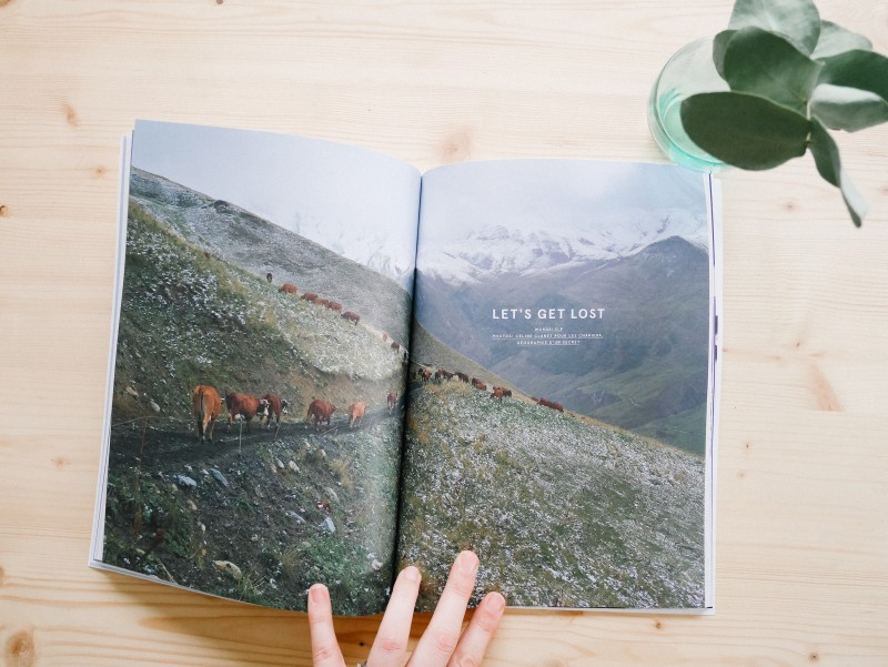 mint magazine ouvert