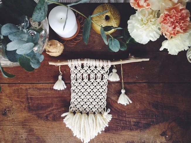 macrame we are family