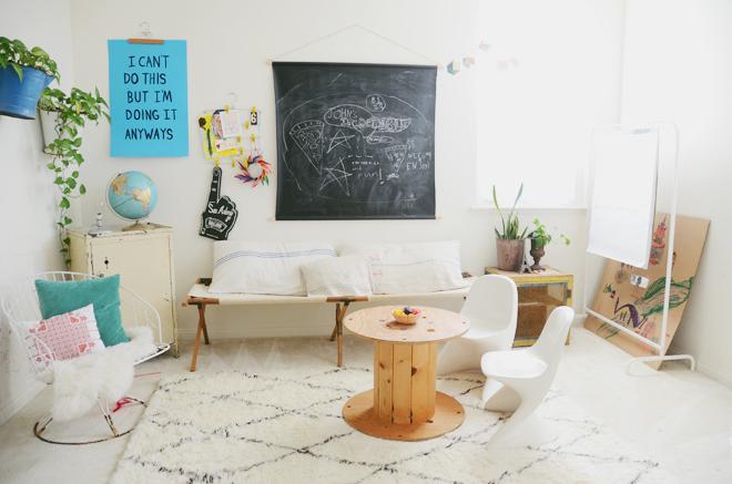 une salle pour les enfants