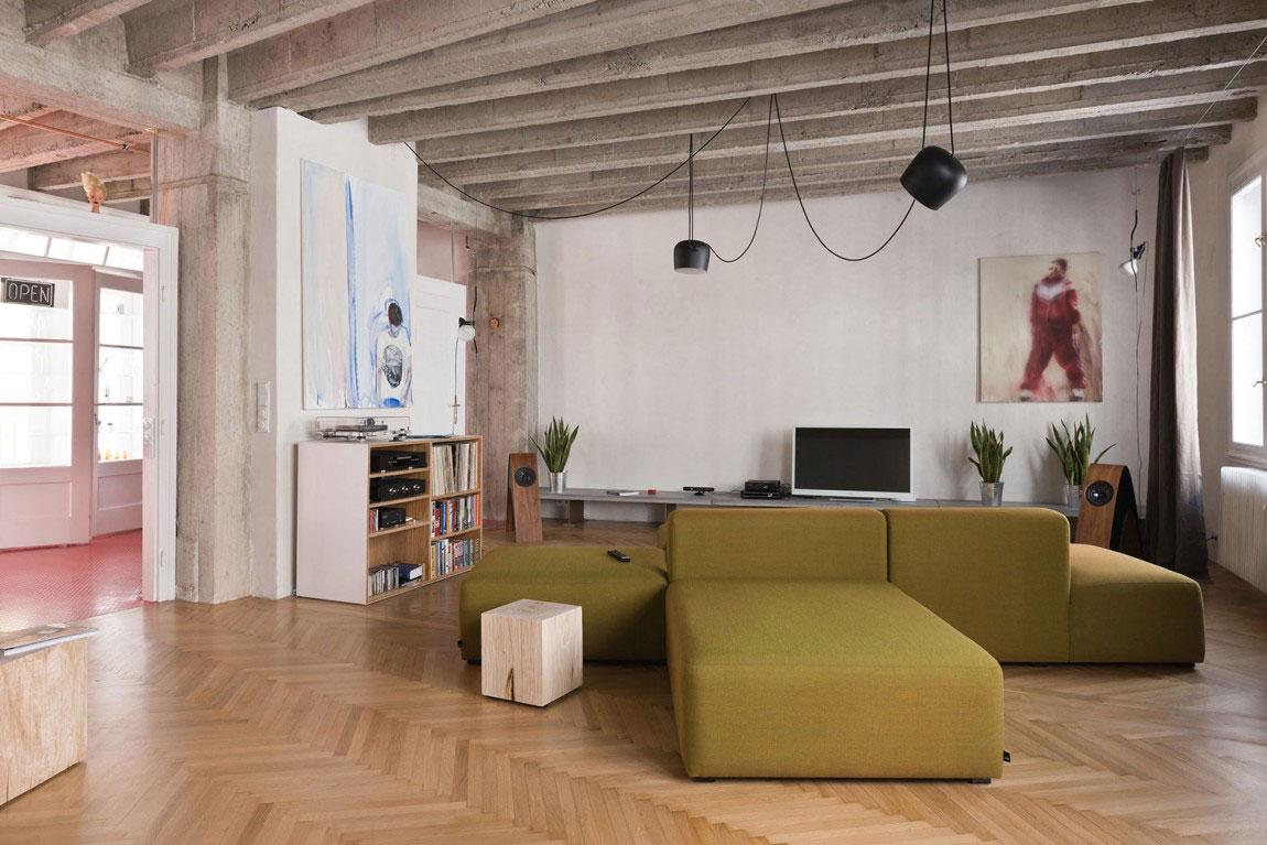 loft ouvert à brastislava