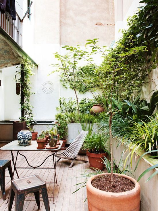 Comment am nager sa terrasse lili in wonderland for Casa jardin antiavispas