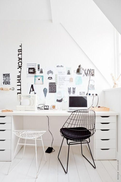 am nager un bureau chez soi lili in wonderland. Black Bedroom Furniture Sets. Home Design Ideas