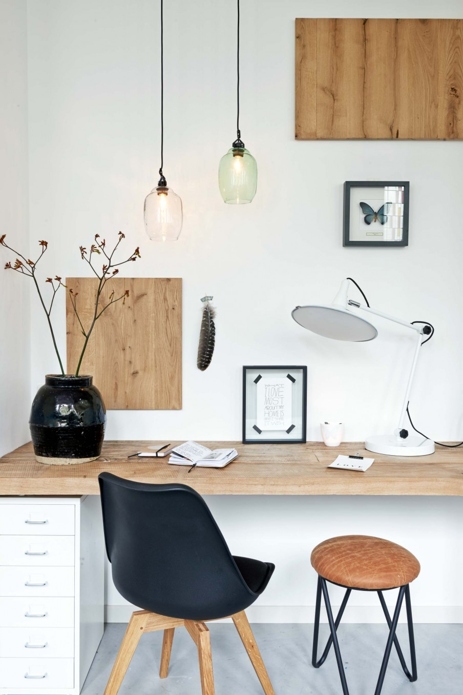 Am nager un bureau chez soi lili in wonderland - Photo deco kantoor ...