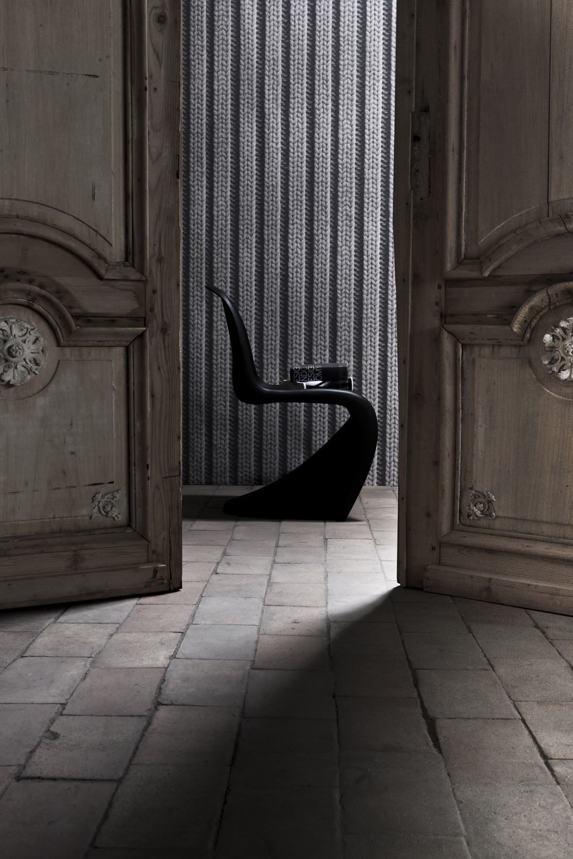 le papier peint trompe l 39 oeil. Black Bedroom Furniture Sets. Home Design Ideas
