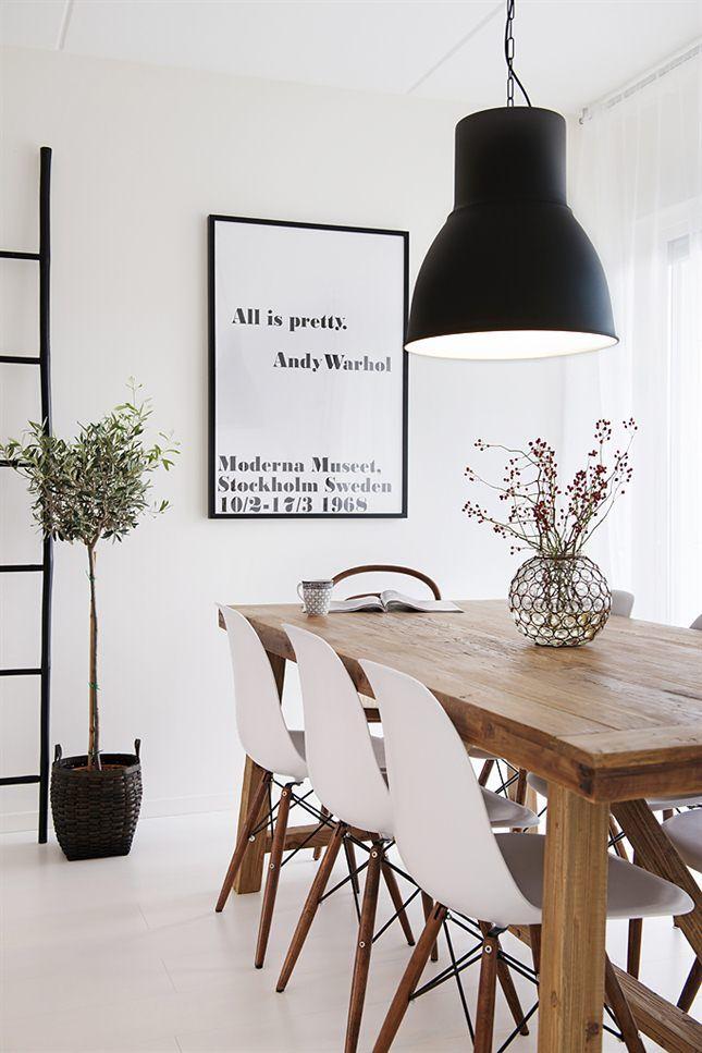 salle à manger luminaire