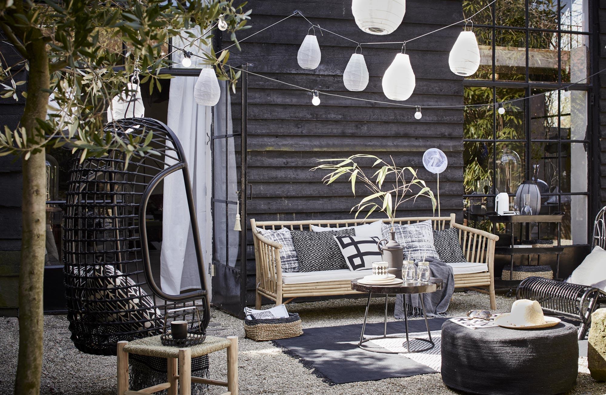 Suspendus s lection de fauteuils suspendus et hamacs - Claustra ontwerp pour terras ...
