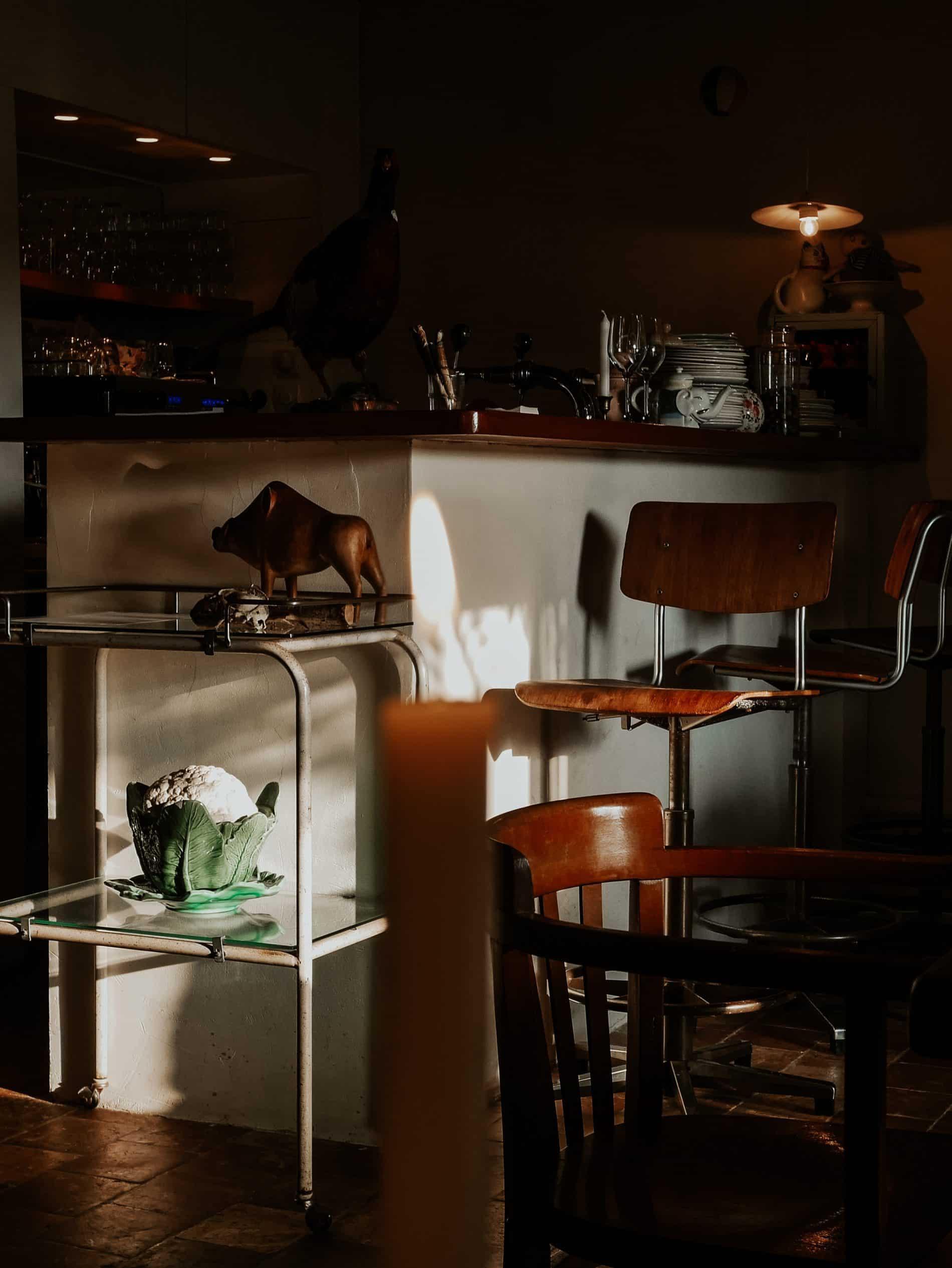 d'une île week-end perche septime Launay restaurant