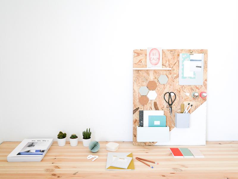 diy organiseur de bureau lili in wonderland. Black Bedroom Furniture Sets. Home Design Ideas