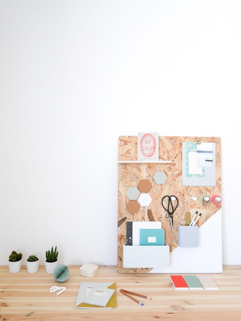 diy organiseur de bureau. Black Bedroom Furniture Sets. Home Design Ideas