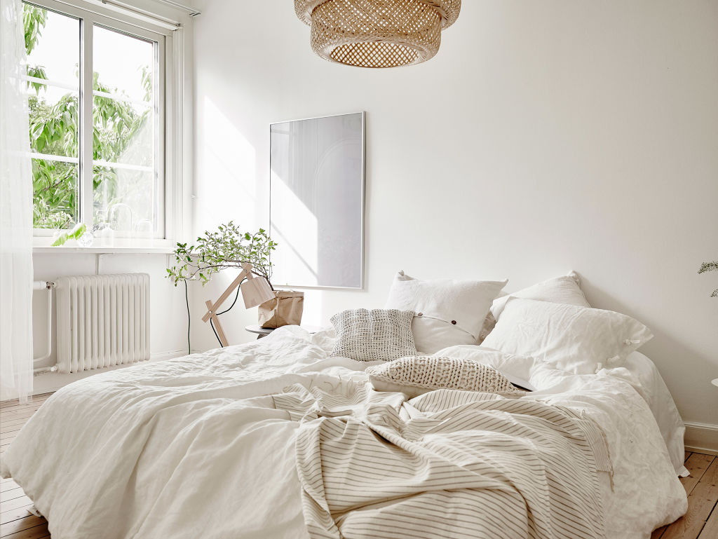 un appartement blanc et naturel lili in wonderland. Black Bedroom Furniture Sets. Home Design Ideas