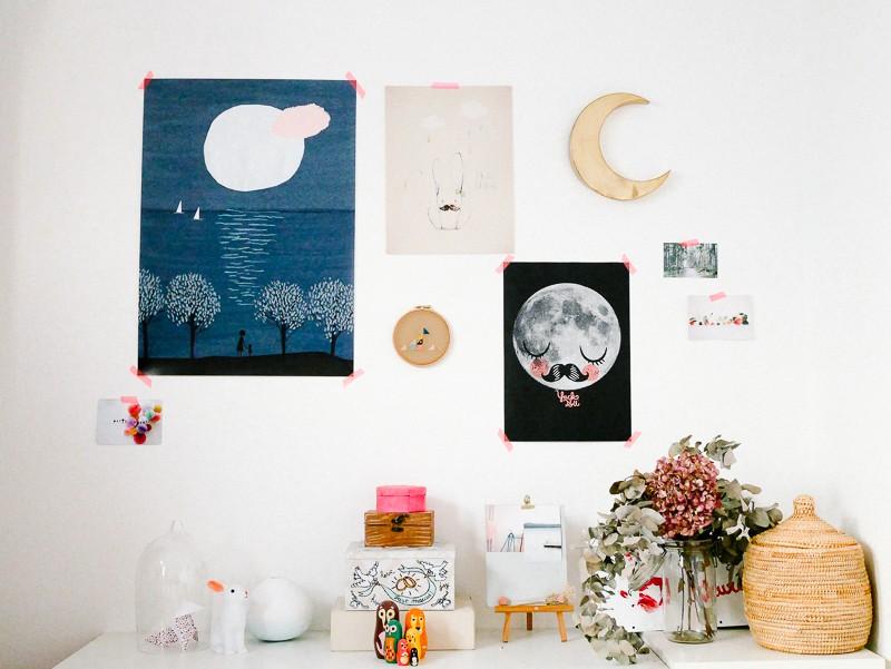 ma chambre avec l 39 affiche moderne concours inside. Black Bedroom Furniture Sets. Home Design Ideas