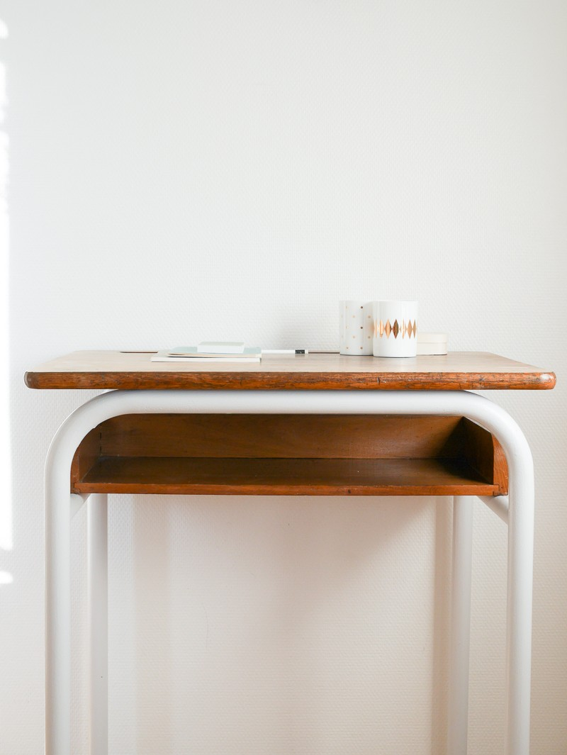 Repeindre Un Bureau D Écolier diy : relooker une chaise et un bureau - lili in wonderland