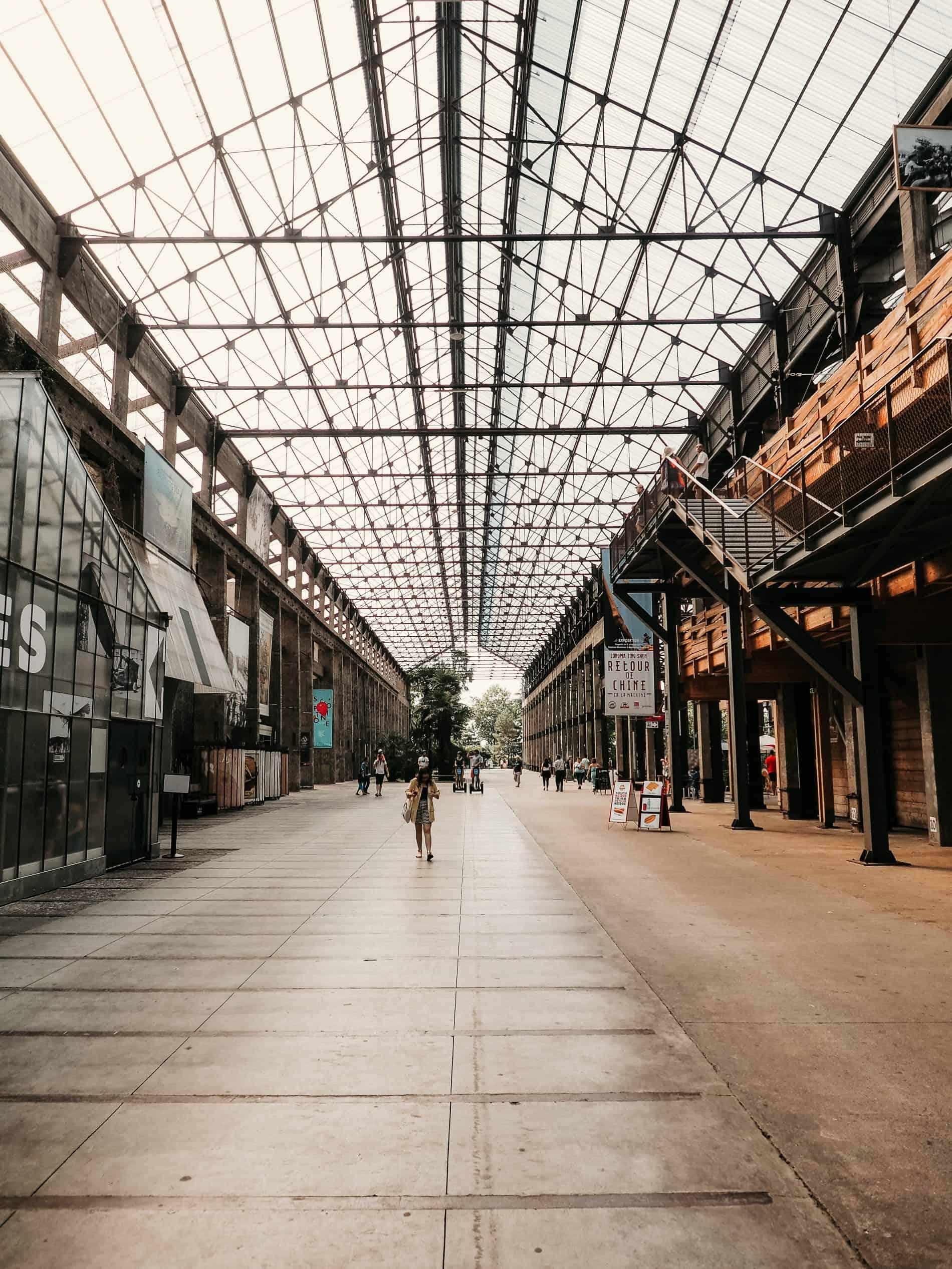 week-end à Nantes cityguide voyage France Les Machines de l'île Hangar