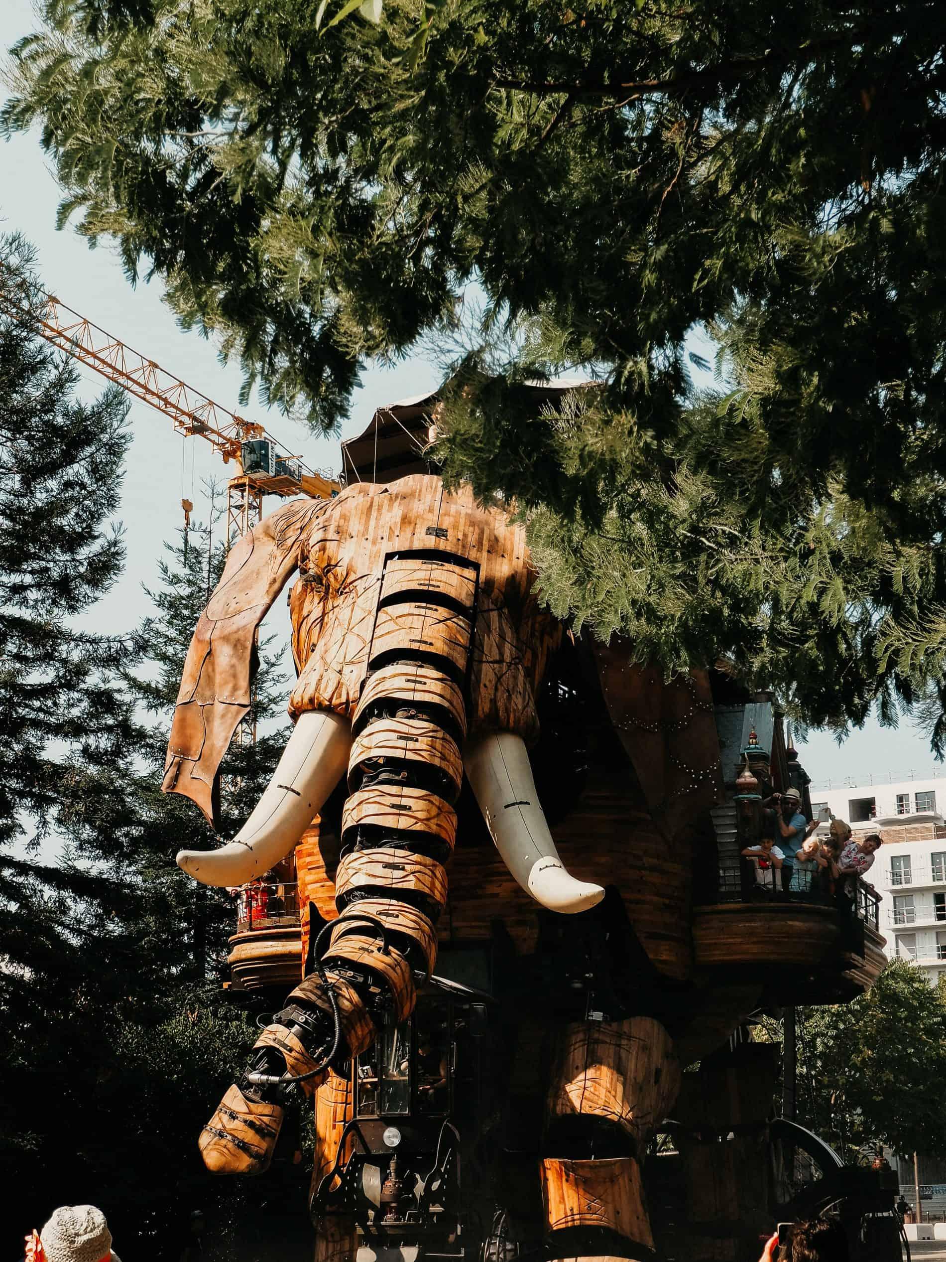 week-end à Nantes cityguide voyage France elephant les machines des l'île