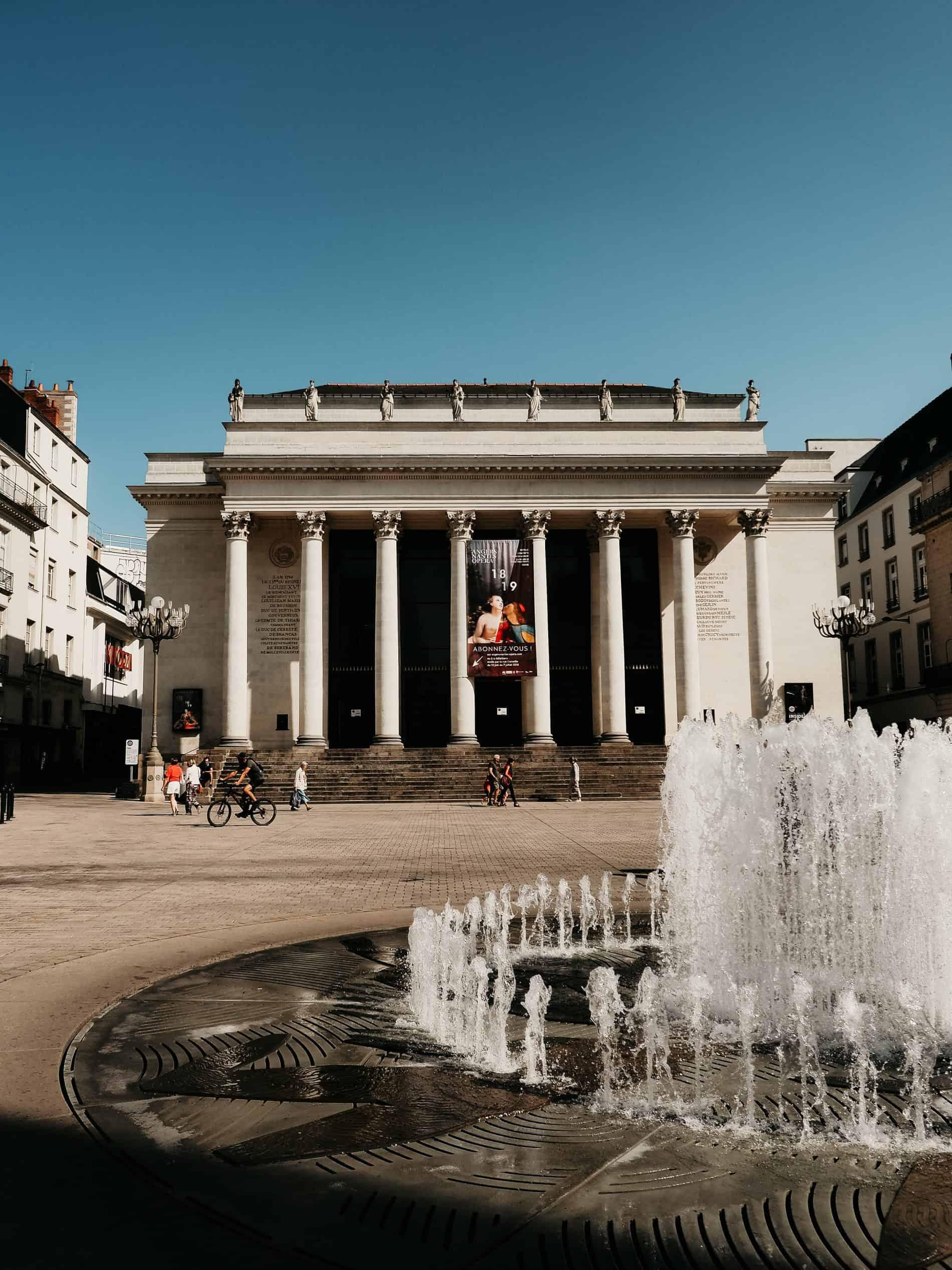 week-end à Nantes cityguide voyage France opera