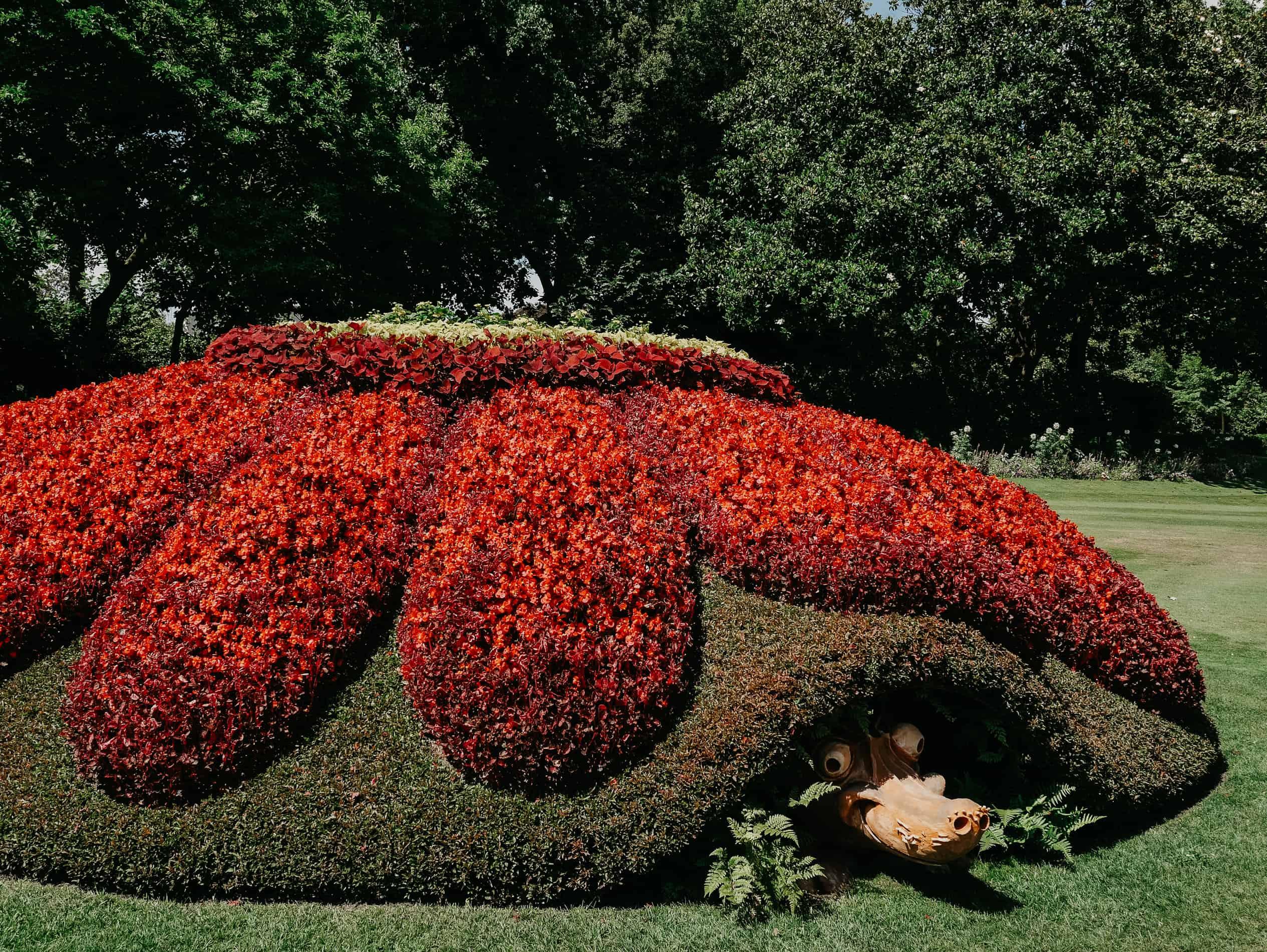 week-end à Nantes cityguide voyage France Le Jardin des Plantes Ponti