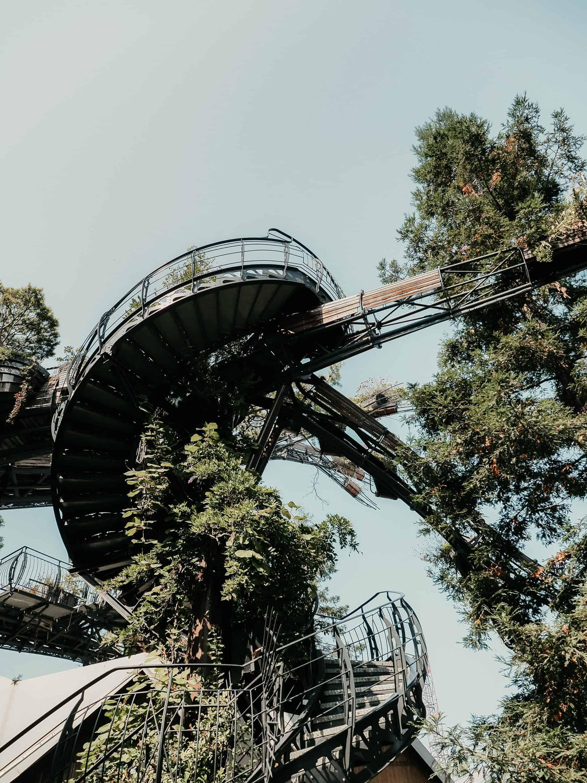 week-end à Nantes cityguide voyage France arbre les machines de l'île