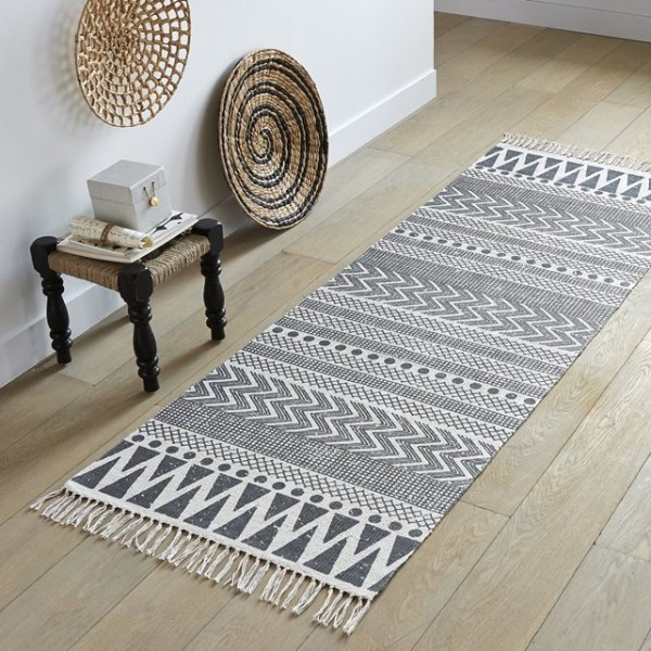 O trouver un tapis graphique black and white for Tapis etroit et long