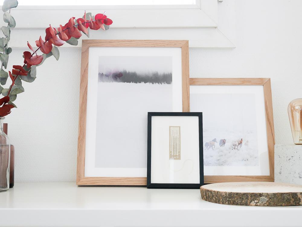 juniqe cadre photo déco lili in wonderland