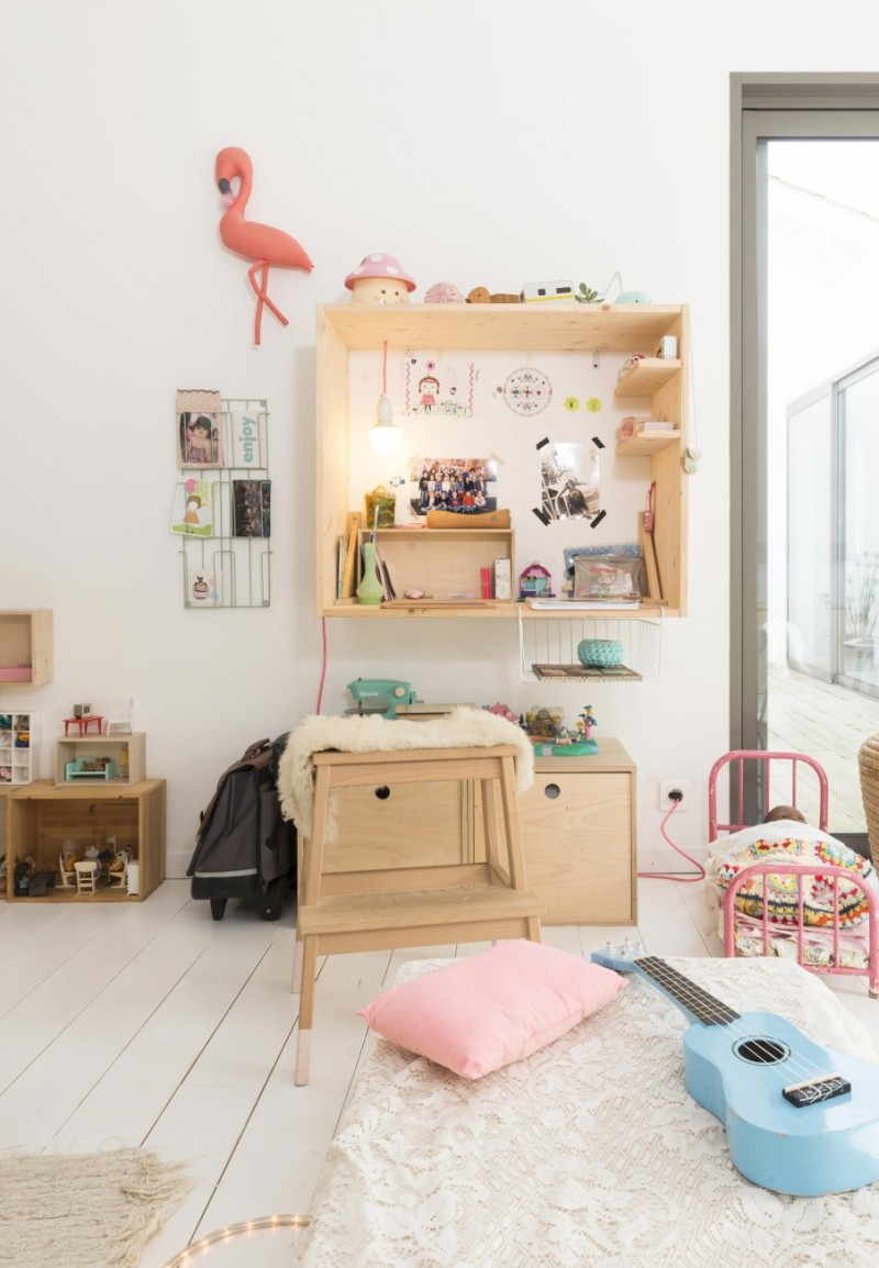 maison-deco-tendance-vintage-brocante-recup-diy-slow-life-chambre-enfant-bureau
