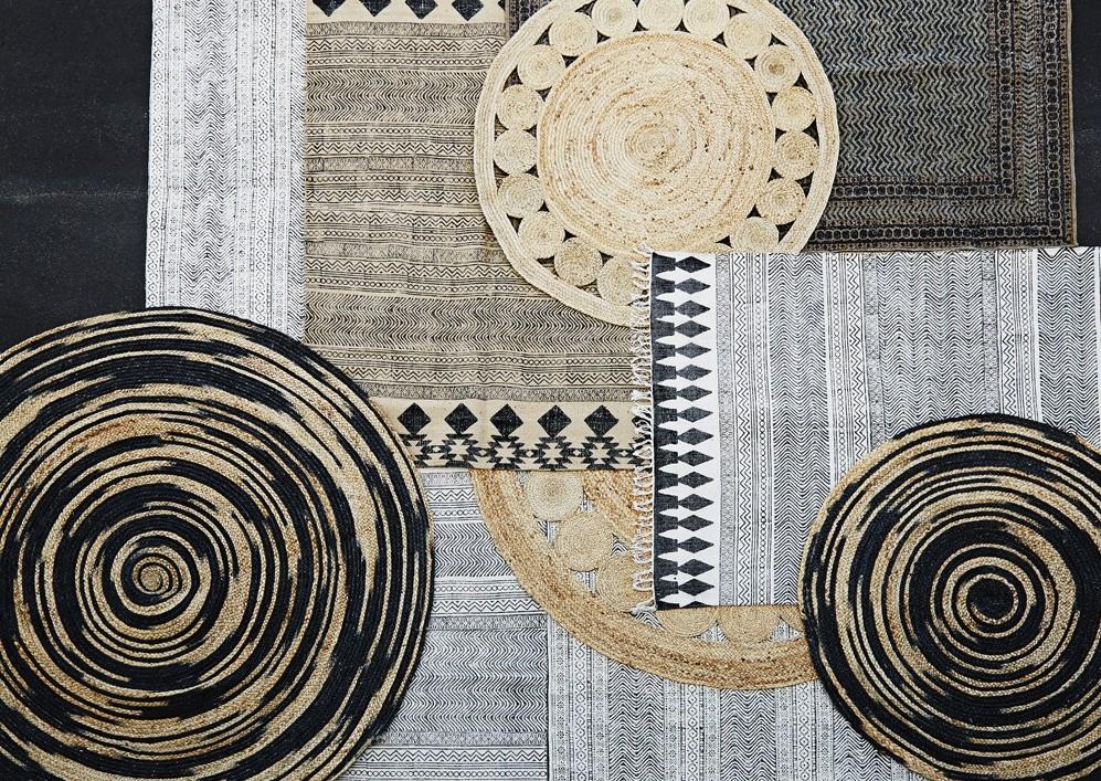 Crush le tapis de jute lili in wonderland - Tapis toile de jute ...