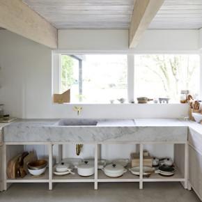 cuisine plan de travail maison dans la montagne liliinwonderland
