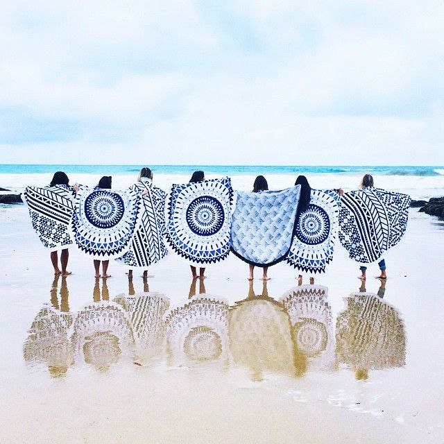 the-beach-people-serviettes-rondes-plage