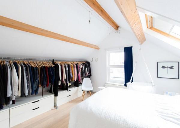 chambre a coucher meuble suedois meubles scandinaves combles