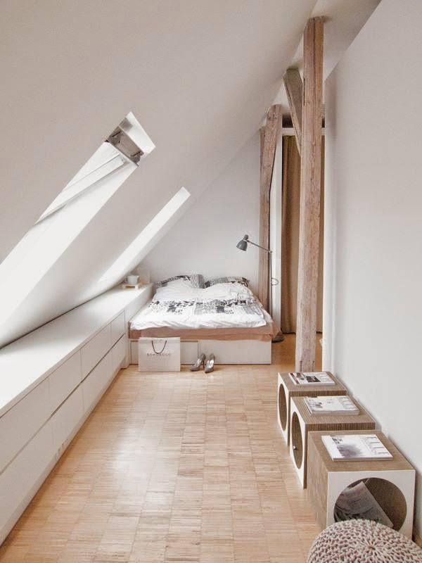 Chambre A Coucher Meuble Suedois Meubles Scandinaves Combles  ...