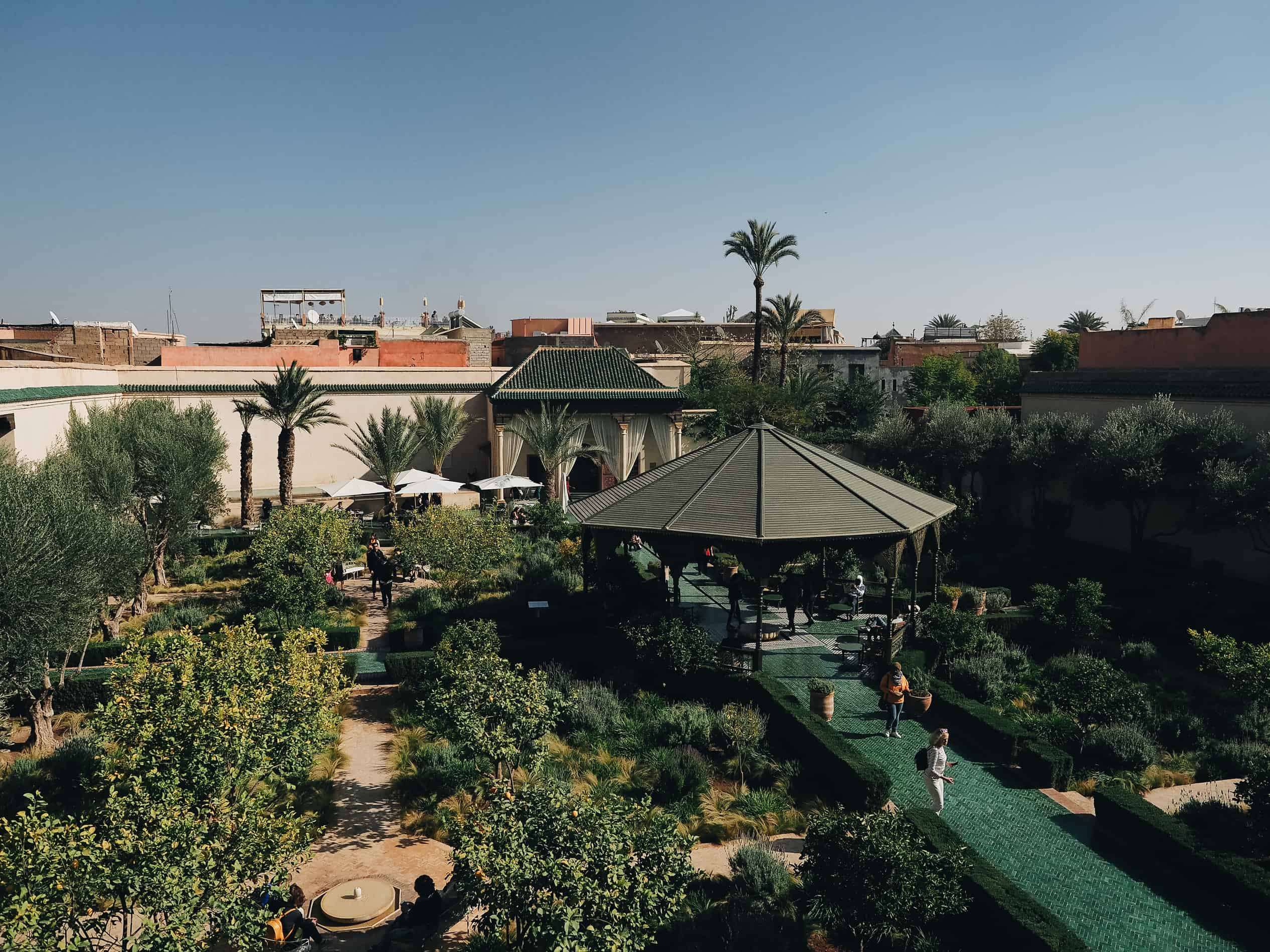 La Jardin Secret Marrakech week-end Maroc cityguide