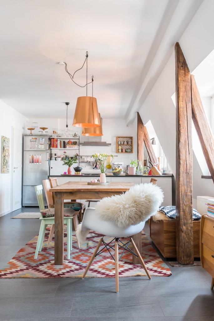 salle-a-manger-cuisine-appartement-deco-boheme-colore-liliinwonderland