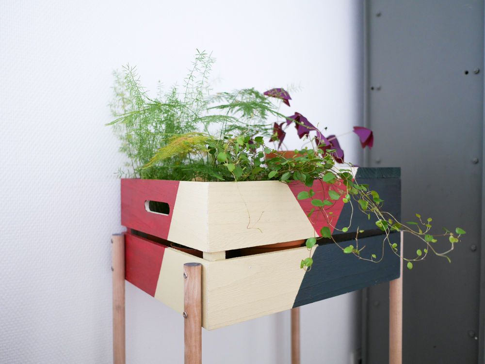 diy une jardini re graphique lili in wonderland. Black Bedroom Furniture Sets. Home Design Ideas