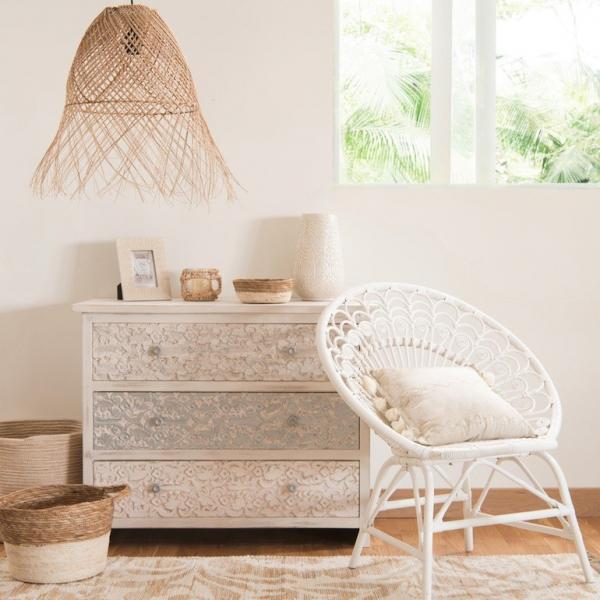 crush les suspensions en rotin lili in wonderland. Black Bedroom Furniture Sets. Home Design Ideas