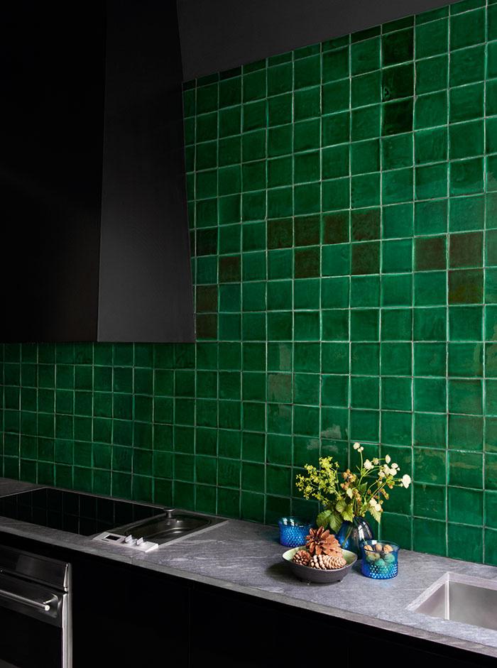 Crush le carrelage vert - Lili in wonderland