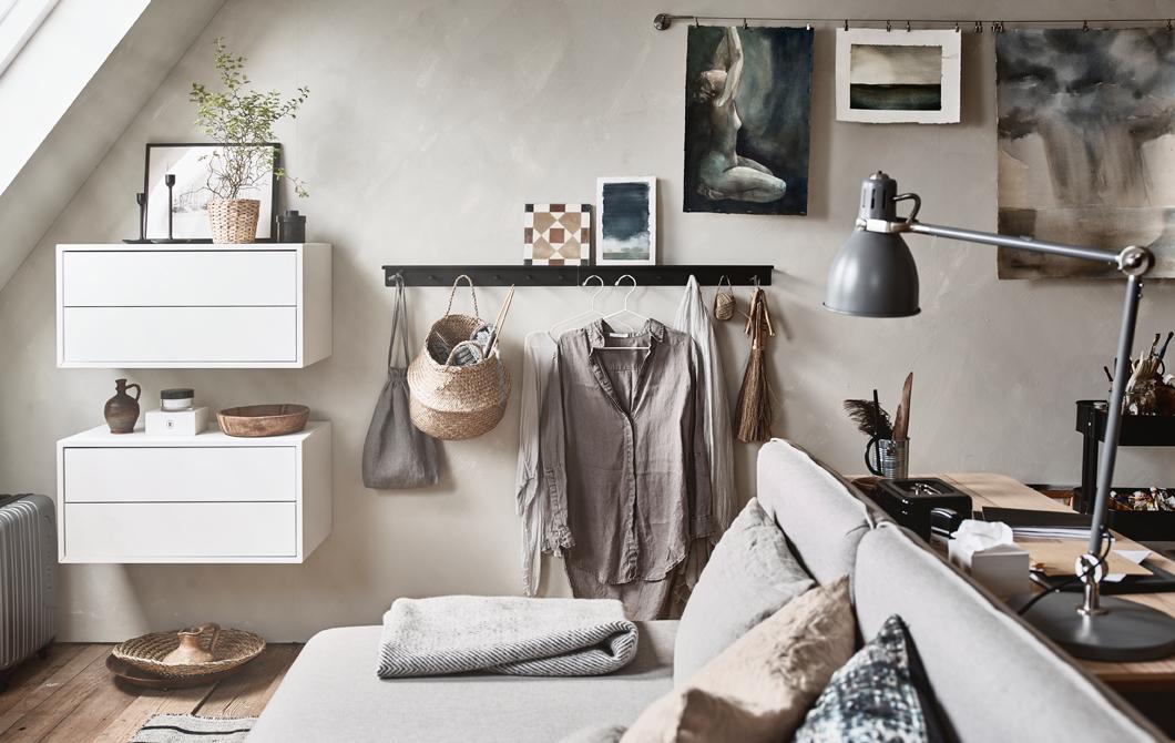 Aménager une chambre d\'amis en atelier - Lili in wonderland