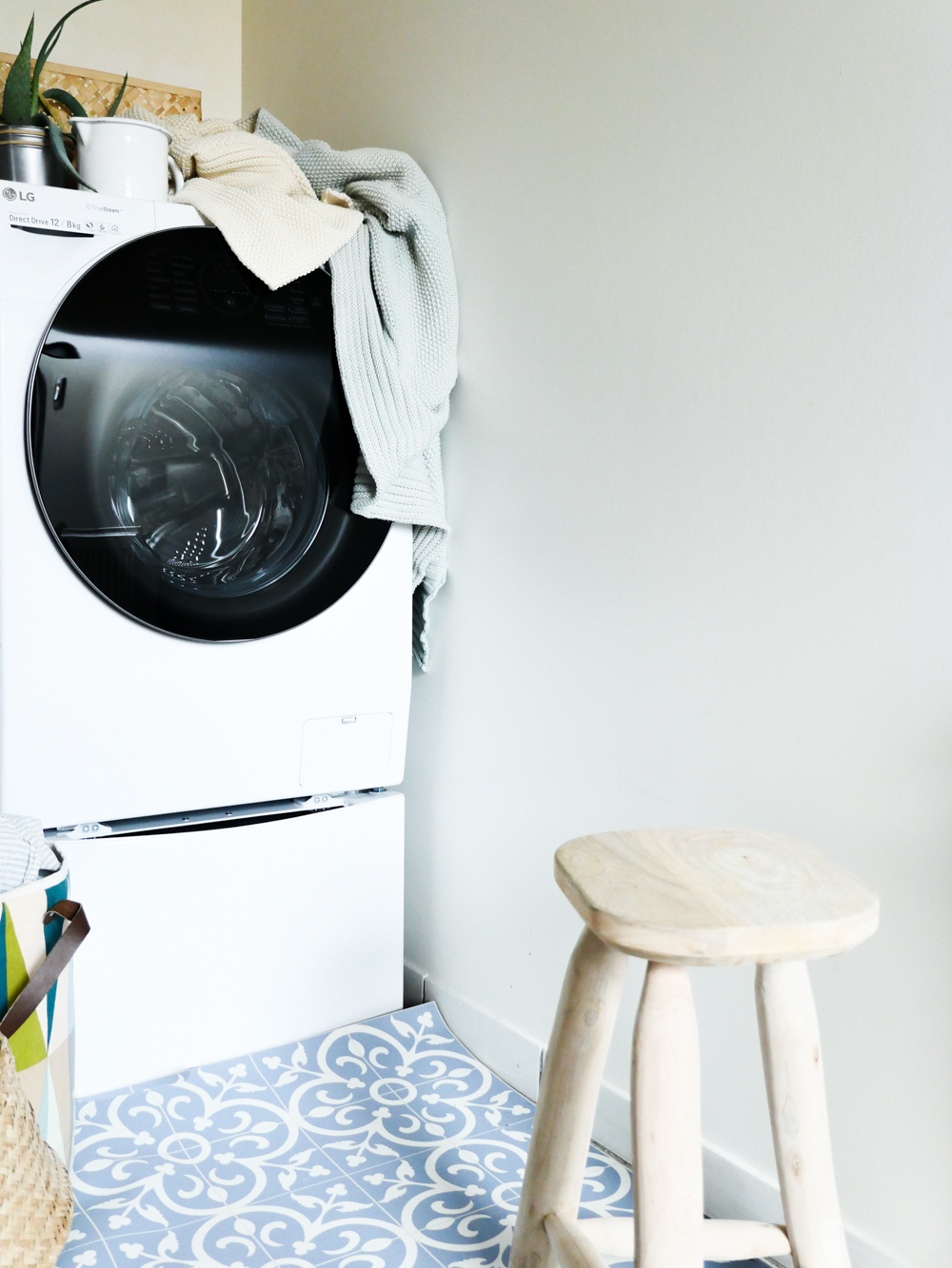 lave-linge séchant LG TWINWash™ blog deco lifestyle voyage lili in wonderland