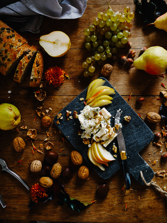 planche fromages automne apéro food lifestyle blog déco styling