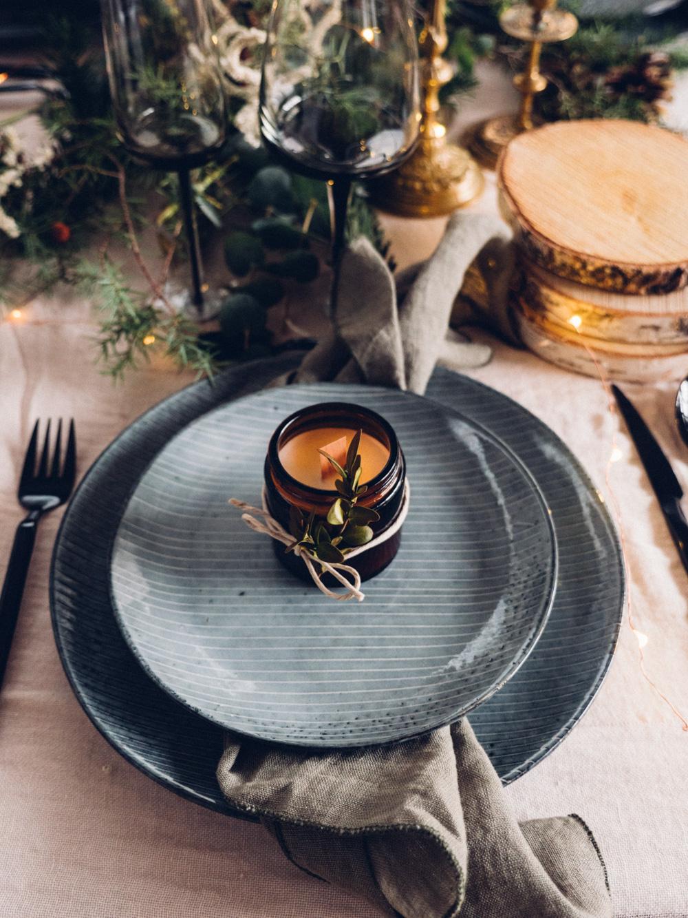 Deco De Table Bougie diy les bougies de noël - lili in wonderland