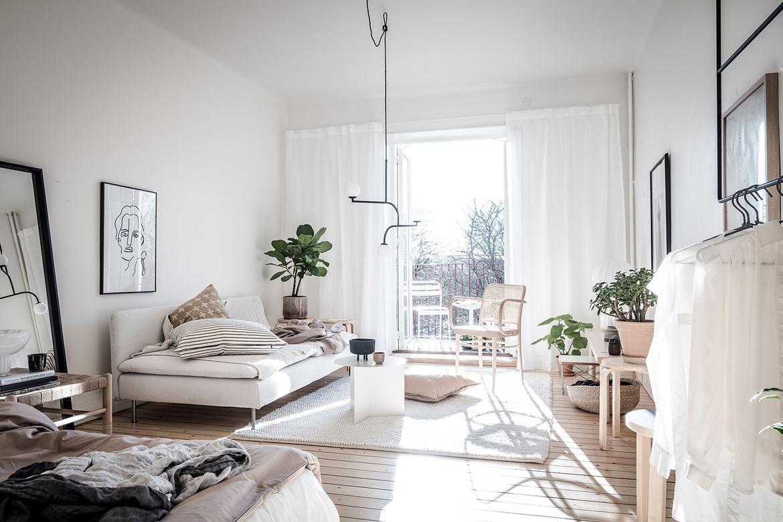 Un Petit Appartement Scandinave Tout Doux Lili In Wonderland
