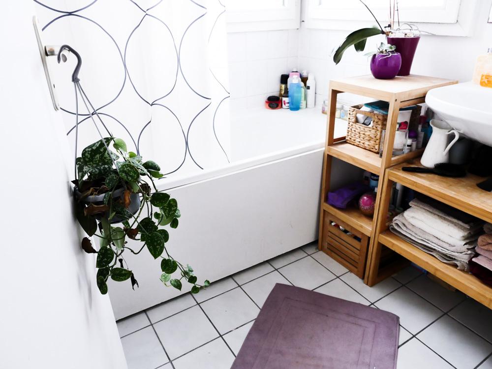 La salle de bain avant apr s lili in wonderland for Combien coute salle de bain