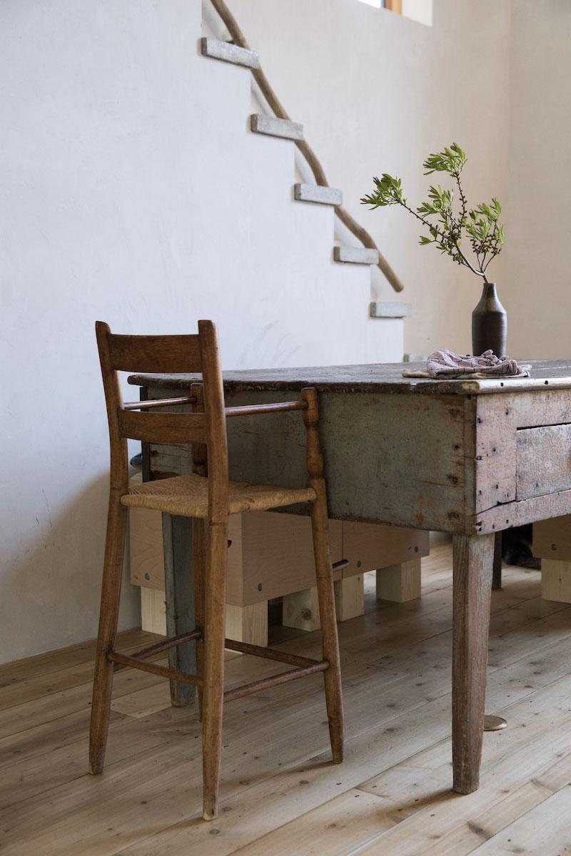 table rustique maison dans la campagne wabi sabi blog déco et lifestyle Lili in Wonderland
