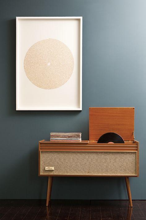 des id es d co pour ranger ses vinyles lili in wonderland. Black Bedroom Furniture Sets. Home Design Ideas