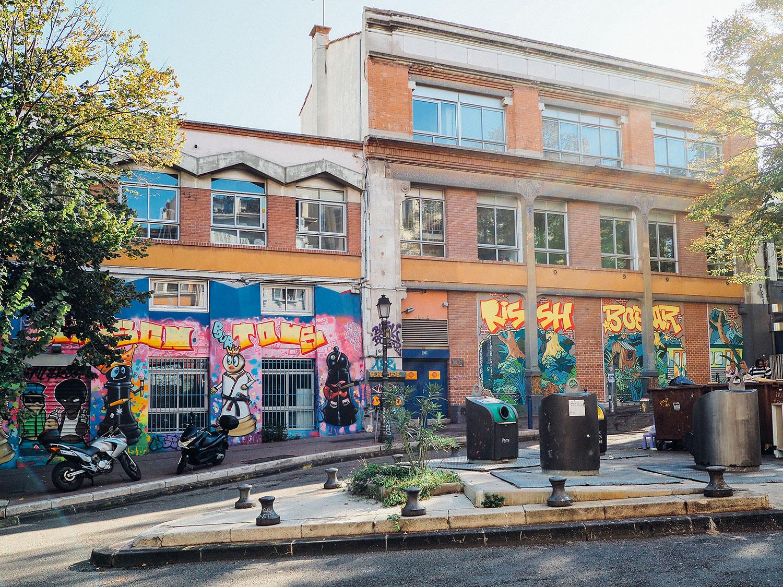 street artnoailles cours saint julien week end à Marseille