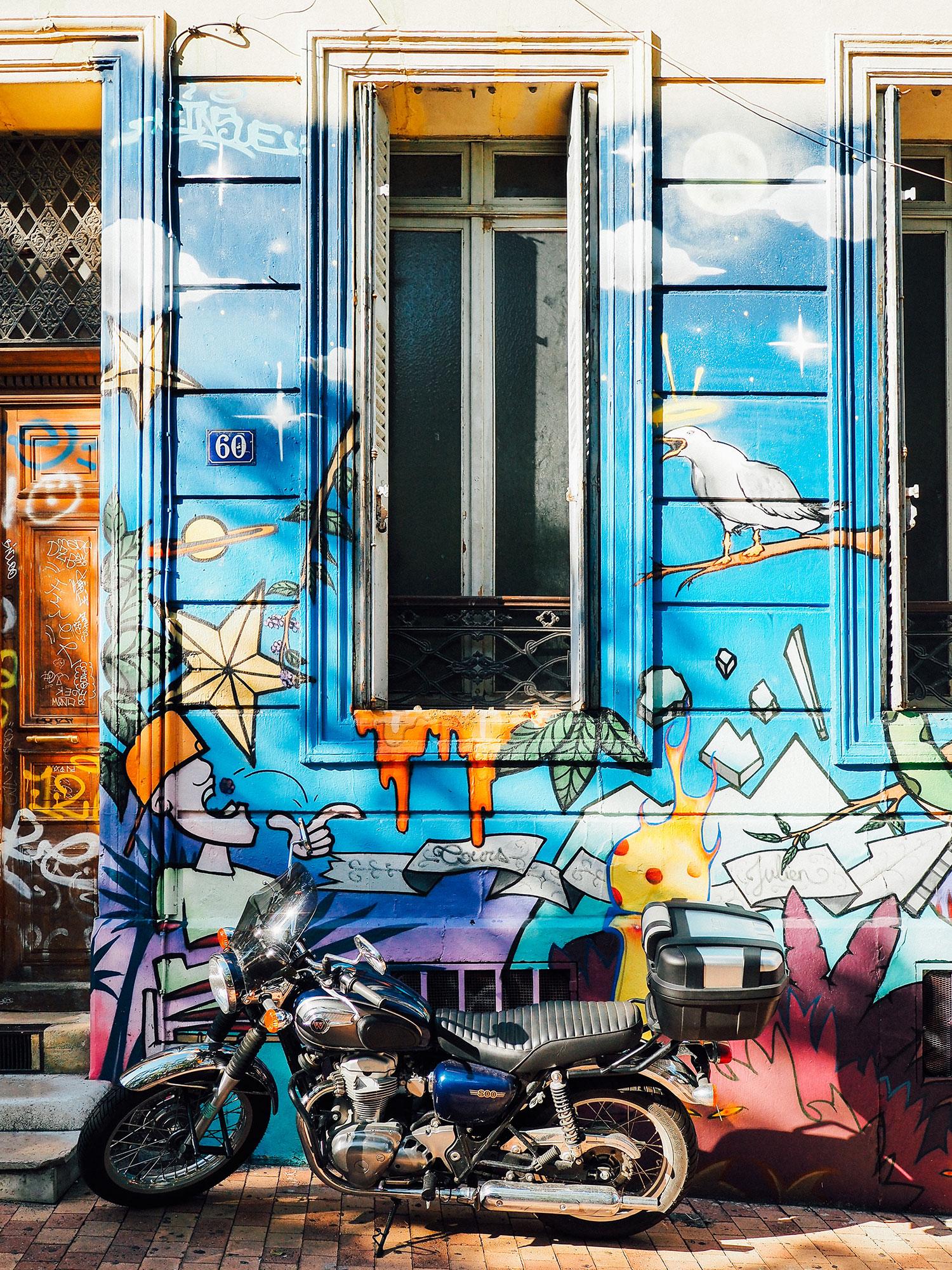 street art noailles cours saint julien week end à Marseille