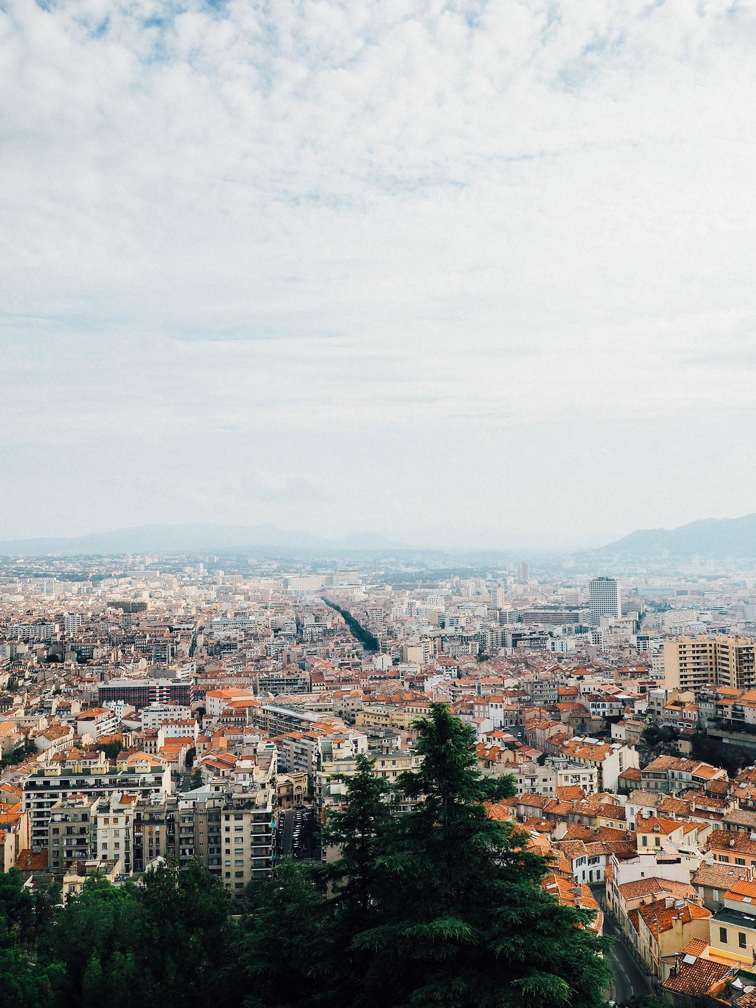 vue de la bonne mere week end Marseille
