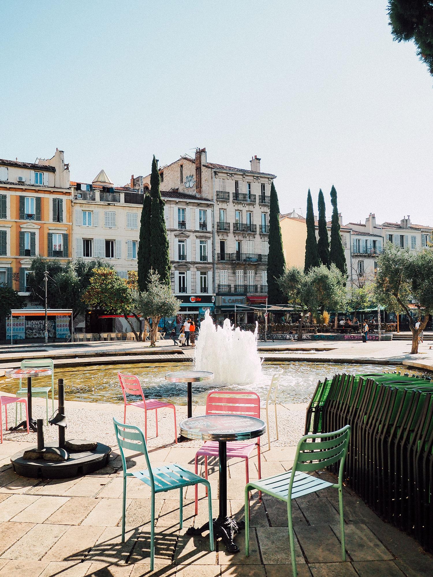 pnoailles cours saint julien week end à Marseilleace v