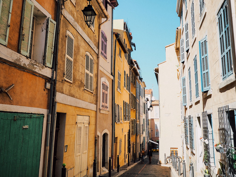 rue Le Panier week-end à Marseille